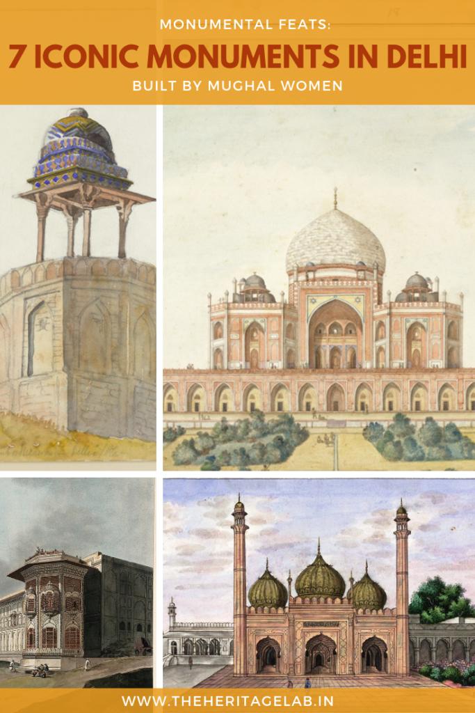 delhi-monuments-mughal-women